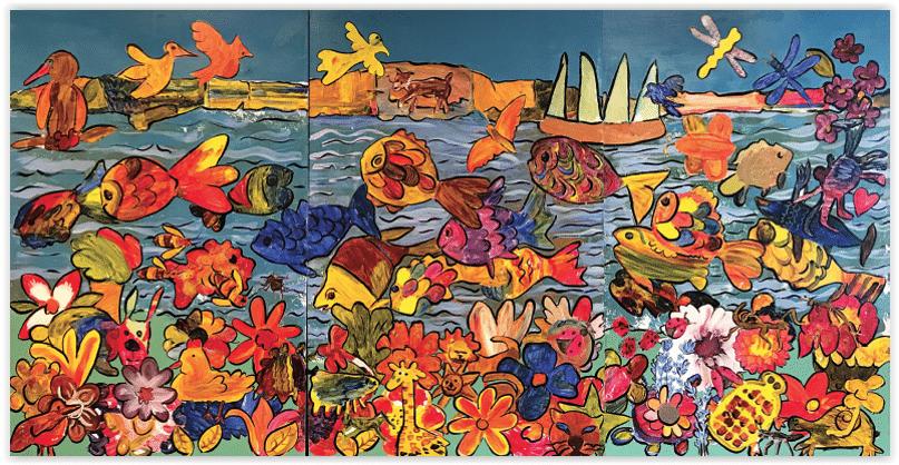 Hudson River Mural