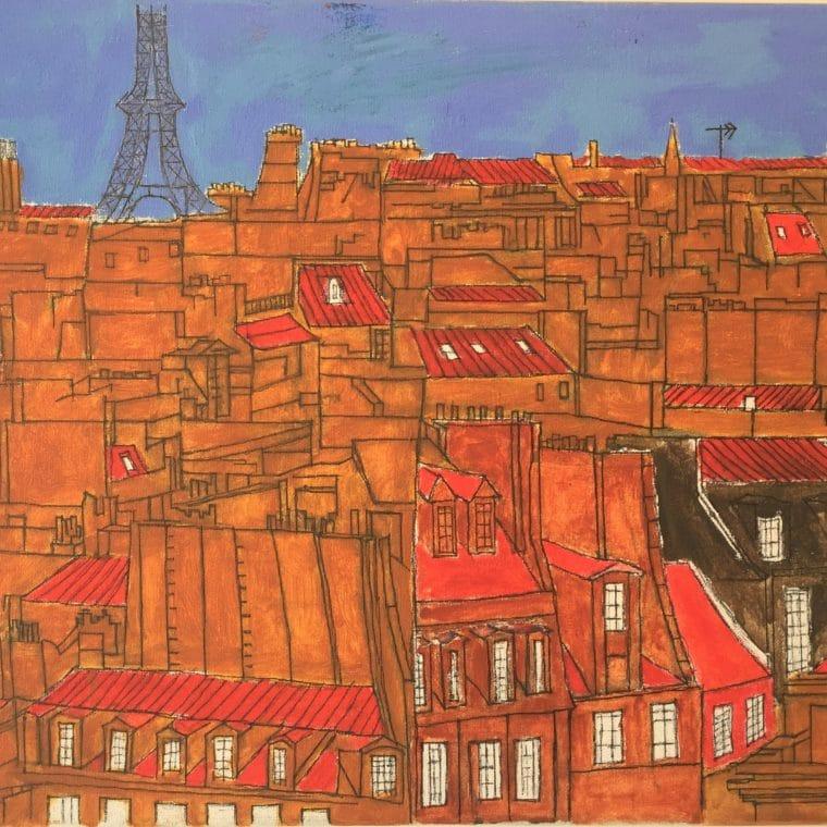 Painting of Paris