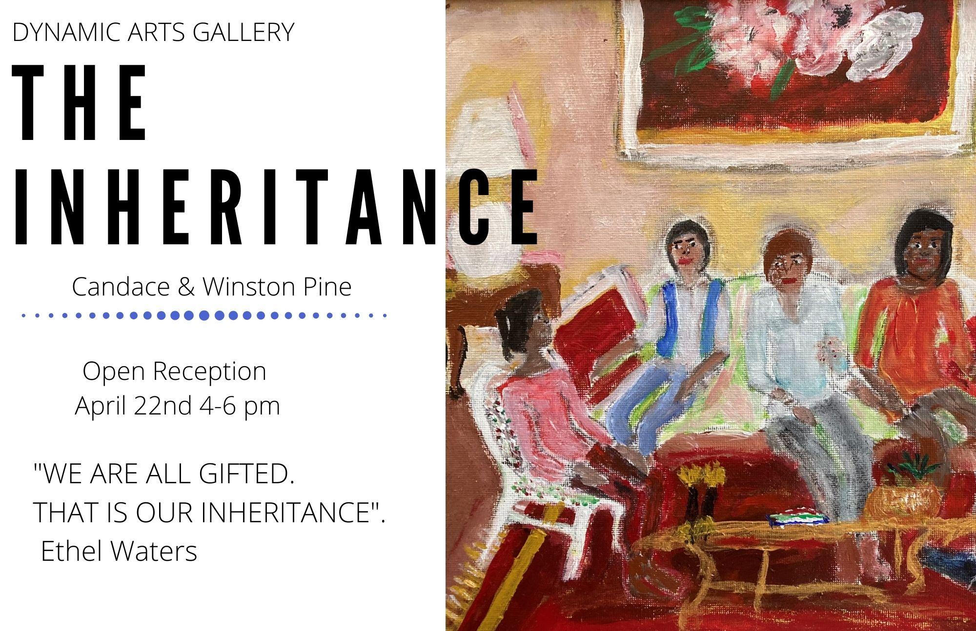 Pine Art Exhibit Poster